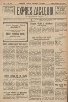 Expres Zagłębia : demokratyczny organ niezależny. R.2, № 208 (8 września 1927)