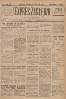 Expres Zagłębia : demokratyczny organ niezależny. R.2, № 216 (17 września 1927)