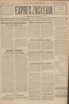 Expres Zagłębia : demokratyczny organ niezależny. R.2, № 219 (21 września 1927)