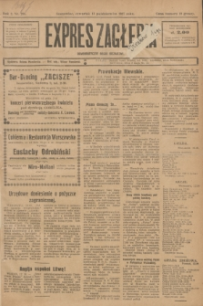 Expres Zagłębia : demokratyczny organ niezależny. R.2, nr 238 (13 października 1927)