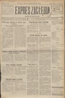 Expres Zagłębia : demokratyczny organ niezależny. R.2, № 248 (25 października 1927)