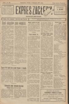 Expres Zagłębia : demokratyczny organ niezależny. R.2, № 259 (8 listopada 1927)