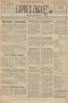 Expres Zagłębia : demokratyczny organ niezależny. R.2, № 261 (10 listopada 1927)