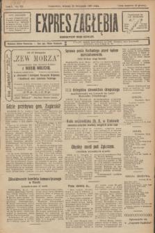 Expres Zagłębia : demokratyczny organ niezależny. R.2, No 271 (22 listopada 1927)