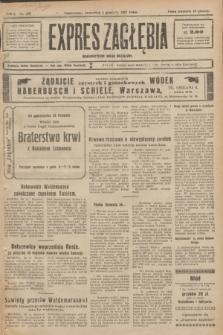 Expres Zagłębia : demokratyczny organ niezależny. R.2, nr 279 (1 grudnia 1927)