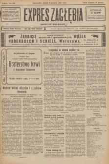 Expres Zagłębia : demokratyczny organ niezależny. R.2, nr 280 (2 grudnia 1927)
