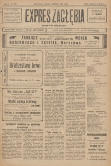 Expres Zagłębia : demokratyczny organ niezależny. R.2, nr 281 (3 grudnia 1927)