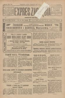 Expres Zagłębia : demokratyczny organ niezależny. R.2, nr 289 (14 grudnia 1927)
