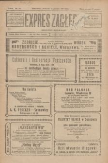 Expres Zagłębia : demokratyczny organ niezależny. R.2, nr 293 (18 grudnia 1927)