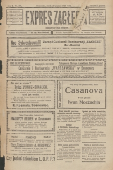 Expres Zagłębia : demokratyczny organ niezależny. R.2, № 301 (30 grudnia 1927)