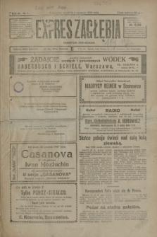 Expres Zagłębia : demokratyczny organ niezależny. R.3, nr 1 (1 stycznia 1928)