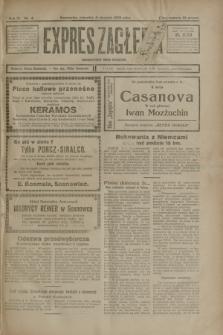 Expres Zagłębia : demokratyczny organ niezależny. R.3, nr 4 (5 stycznia 1928)