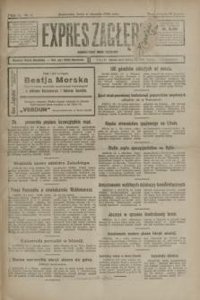 Expres Zagłębia : demokratyczny organ niezależny. R.3, nr 8 (11 stycznia 1928)