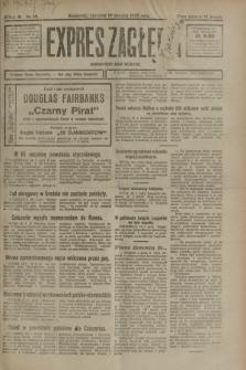Expres Zagłębia : demokratyczny organ niezależny. R.3, nr 15 (19 stycznia 1928)