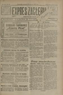 Expres Zagłębia : demokratyczny organ niezależny. R.3, nr 18 (22 stycznia 1928) + dod.