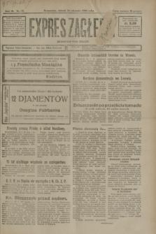 Expres Zagłębia : demokratyczny organ niezależny. R.3, nr 19 (24 stycznia 1928)