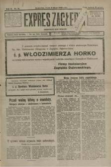 Expres Zagłębia : demokratyczny organ niezależny. R.3, nr 31 (8 lutego 1928)