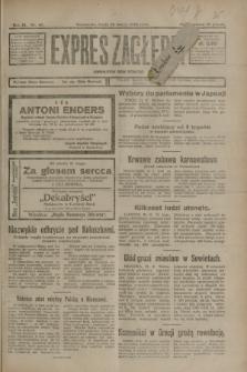 Expres Zagłębia : demokratyczny organ niezależny. R.3, nr 43 (22 lutego 1928)