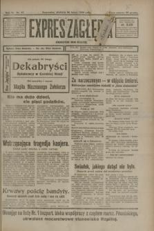 Expres Zagłębia : demokratyczny organ niezależny. R.3, nr 47 (26 lutego 1928)