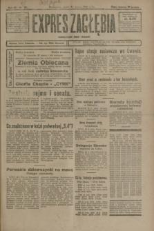 Expres Zagłębia : demokratyczny organ niezależny. R.3, nr 72 (23 marca 1928)