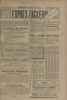 Expres Zagłębia : demokratyczny organ niezależny. R.3, nr 74 (25 marca 1928) + dod.