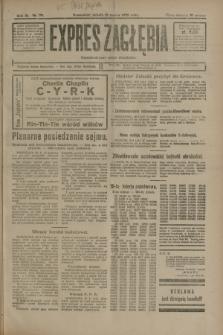 Expres Zagłębia : demokratyczny organ niezależny. R.3, nr 79 (31 marca 1928)