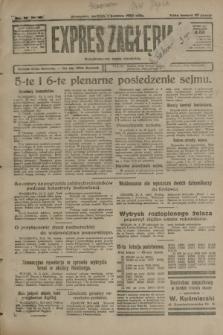 Expres Zagłębia : demokratyczny organ niezależny. R.3, nr 80 (1 kwietnia 1928) + dod.