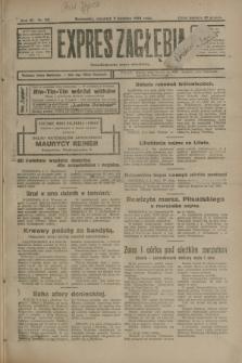 Expres Zagłębia : demokratyczny organ niezależny. R.3, nr 83 (5 kwietnia 1928)