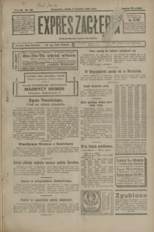 Expres Zagłębia : demokratyczny organ niezależny. R.3, nr 84 (6 kwietnia 1928)
