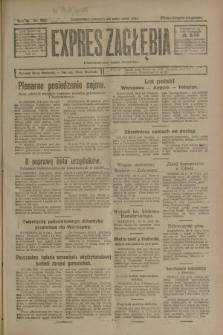 Expres Zagłębia : demokratyczny organ niezależny. R.3, nr 121 (24 maja 1928)