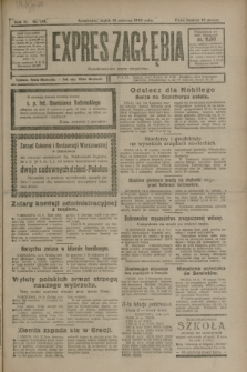 Expres Zagłębia : demokratyczny organ niezależny. R.3, nr 138 (15 czerwca 1928)