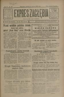Expres Zagłębia : demokratyczny organ niezależny. R.3, nr 140 (17 czerwca 1928)
