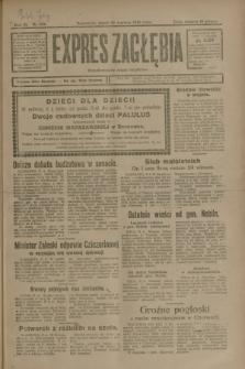 Expres Zagłębia : demokratyczny organ niezależny. R.3, nr 144 (22 czerwca 1928)