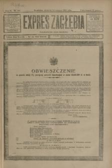 Expres Zagłębia : demokratyczny organ niezależny. R.3, nr 146 (24 czerwca 1928)
