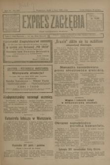Expres Zagłębia : organ demokratyczny niezależny. R.3, nr 153 (4 lipca 1928)
