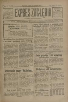 Expres Zagłębia : organ demokratyczny niezależny. R.3, nr 162 (14 lipca 1928)