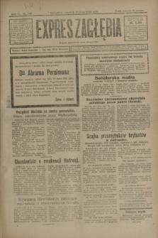 Expres Zagłębia : organ demokratyczny niezależny. R.3, nr 166 (19 lipca 1928)