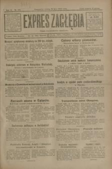 Expres Zagłębia : organ demokratyczny niezależny. R.3, nr 168 (21 lipca 1928)