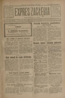 Expres Zagłębia : organ demokratyczny niezależny. R.3, nr 171 (25 lipca 1928)
