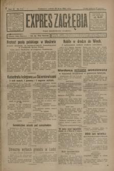 Expres Zagłębia : organ demokratyczny niezależny. R.3, nr 174 (28 lipca 1928)