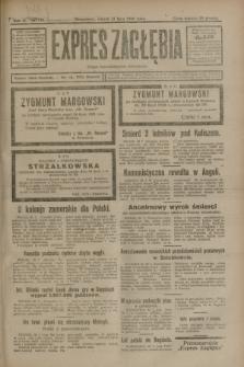 Expres Zagłębia : organ demokratyczny niezależny. R.3, nr 176 (31 lipca 1928)