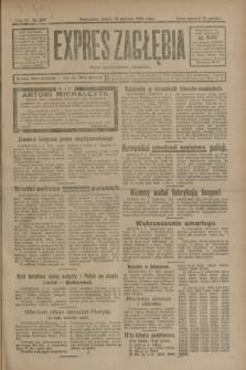 Expres Zagłębia : organ demokratyczny niezależny. R.3, nr 185 (10 sierpnia 1928)