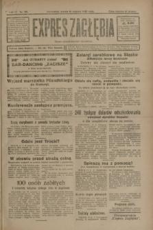 Expres Zagłębia : organ demokratyczny niezależny. R.3, nr 191 (18 sierpnia 1928)