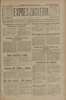 Expres Zagłębia : organ demokratyczny niezależny. R.3, nr 194 (22 sierpnia 1928)