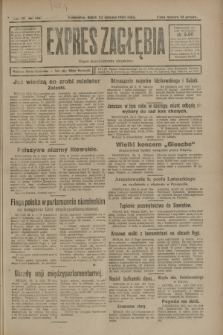 Expres Zagłębia : organ demokratyczny niezależny. R.3, nr 196 (24 sierpnia 1928)