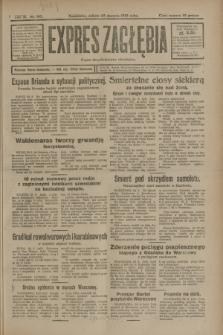 Expres Zagłębia : organ demokratyczny niezależny. R.3, nr 197 (25 sierpnia 1928)