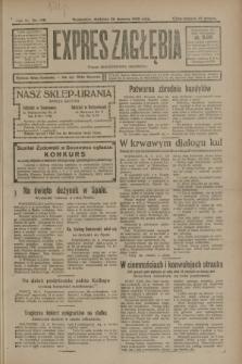 Expres Zagłębia : organ demokratyczny niezależny. R.3, nr 198 (26 sierpnia 1928)