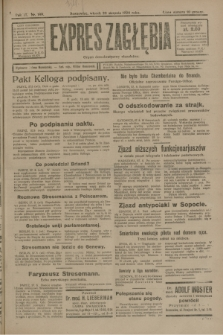 Expres Zagłębia : organ demokratyczny niezależny. R.3, nr 199 (28 sierpnia 1928)
