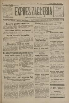 Expres Zagłębia : organ demokratyczny niezależny. R.3, nr 203 (1 września 1928)