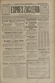 Expres Zagłębia : organ demokratyczny niezależny. R.3, nr 204 (2 września 1928)
